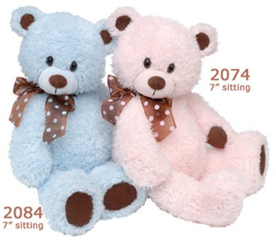 "First Main Inc. 2084 7"" Beary - Blue"