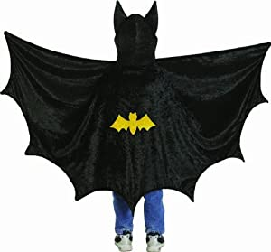 Creative Education's Hooded Bat Cape (Medium) from Creative Education, Inc.
