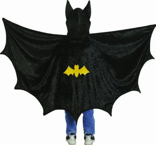 Creative Education's Hooded Bat Cape (Medium) from Creative Education, Inc.