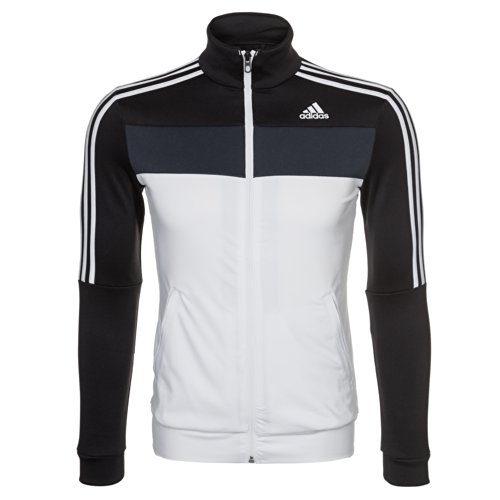 Adidas giacca da allenamento Fitness e Sport tempo libero, Donna Sport. Di alta qualità. Black/White, Donna, Nero / Bianco