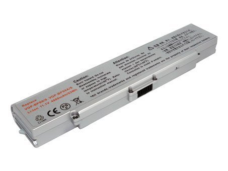 11.10V,4400mAh,Li-ion,Hi-quality Replacement Laptop Battery for SONY VAIO VGN-AR71ZU, VAIO VGN-CR70B/W, VAIO VGN-CR305E/RC, SONY VAIO VGN-CR10, VAIO VGN-CR20, VAIO VGN-CR490, VAIO VGN-CR50, VAIO VGN-CR60, VAIO VGN-CR90 Series, Compatible Part Numbers: VGP-BPS9/S, VGP-BPS9A/S