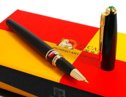 picasso-show-off-art-pure-black-fountain-pen-new