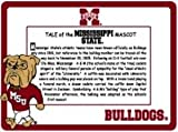 Miss State Mascot Picture Frame Maroon