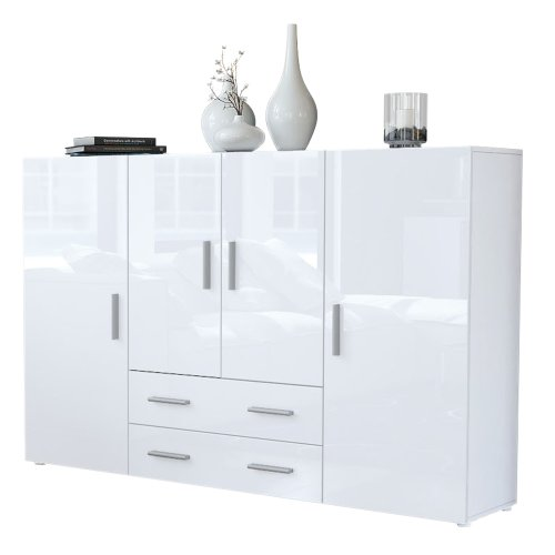 Highboard-Sideboard-Nora-Korpus-in-Wei-matt-Front-in-Wei-Hochglanz