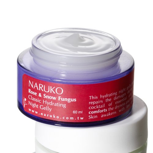 Naruko Rose And Snow Fungus Classic Hydrating Night Gelly, 2.1 Fl. Ounce