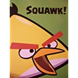 Angry Birds Spiral Notebook By Mead ~ Yellow Bird Squawk (College Ruled, 80 Sheets)