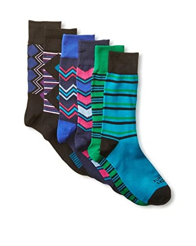 Funky Socks Men's Assorted Casual Socks - 6 Pack
