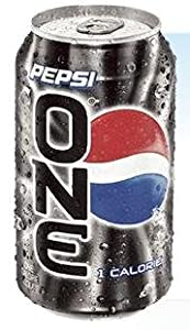 Pepsi One 12 Pack 12 Ounce Cans