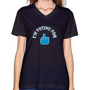 Custom Im Voting President Adult Tshirts For Women