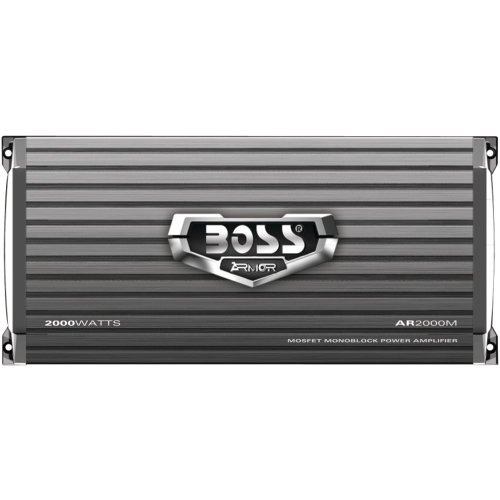 BOSS AUDIO AR2000M Armor 2000-Watt Monoblock, Class A/B 2-8 Ohm Stable Monoblock Amplifier with Remote Subwoofer Level Control (2013 Ford Escape Remote Start compare prices)