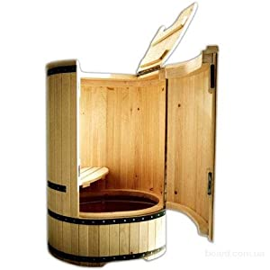 mini sauna cedar barrel of siberian cedar. Black Bedroom Furniture Sets. Home Design Ideas