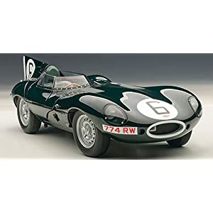 AUTOart 1/18 ジャガー Dタイプ ルマン24時間 優勝車 1955年