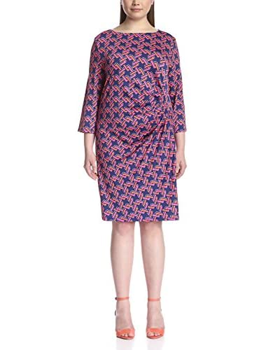 JB Julie Brown Plus Women's Morgan Ruched Sheath Dress