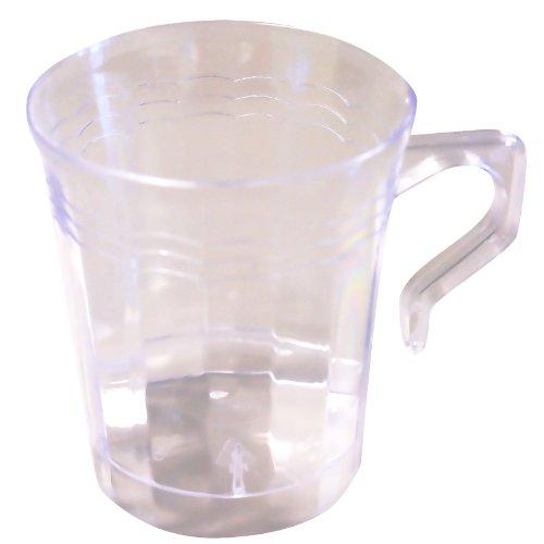 Emi Yoshi Koyal Resposables Coffee Mugs, 8-Ounce, Clear, Set Of 192
