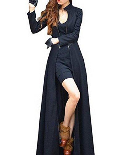 krralinlin-womens-winter-long-woolen-blend-trench-coatblackbluegreykhaki