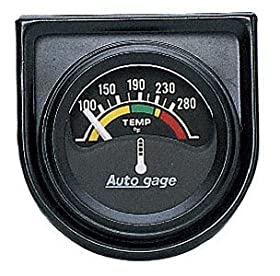 Auto Meter 2355 Autogage Electric Water Temperature Gauge