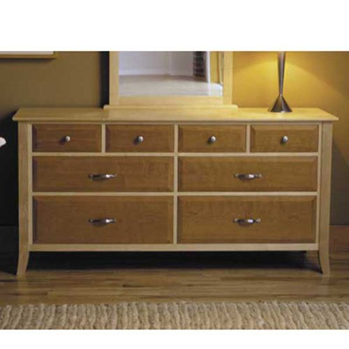 Maple & Cherry Eight-Drawer Dresser: Downloadable Woodworking Plan