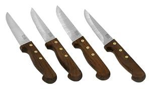 Chicago Cutlery 4-Piece Basics Steakhouse Knife Set