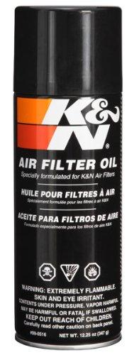 K&N 99-0516 Air Filter Oil - 12.25 oz. - Aerosol (Oil Filter Kit compare prices)