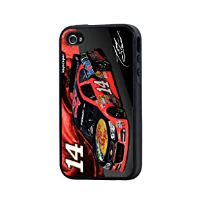 NASCAR Tony Stewart 14 Bass Pro Shops iPhone 4 4S Rugged Case by Keyscaper