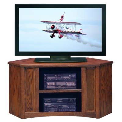 Cheap Mission 48.5″ Corner TV Stand in Red Oak (MM1103.RDO)