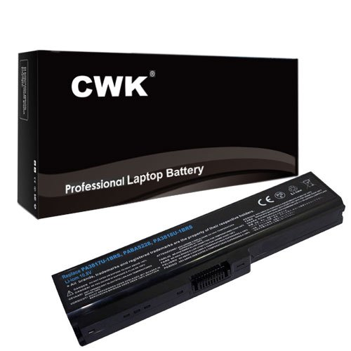 CWK� New Replacement Laptop Notebook Battery for Toshiba Satellite L645D-S4029 U500-ST6321 U405-S2882 A665D-S6091 L645D-S4030 A660-ST3NX2X L640-02V L655-S5157 L645 L645D-S4037 L645-S4032 L645-S4038 A665-S6056 C655 L645-S9431D L655-S5060 L655-S5069 L655-S5