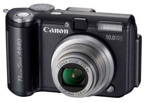 Canon PowerShot A640 is one of the Best Compact Point and Shoot Digital Cameras for Travel Photos Under $400 with Manual Controls
