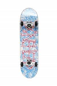 SCSK8 Pro Skateboard Complete Pre-Assembled Graphic / Natural Complete (Boneyard)
