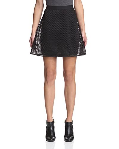 Romeo & Juliet Couture Women's Mesh Skirt
