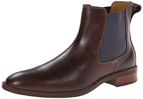 Cole Haan Men's Lenox Hill Chelsea Boot,Chestnut Water Proof,12 M US (Cole Haan Boots Men Brown compare prices)