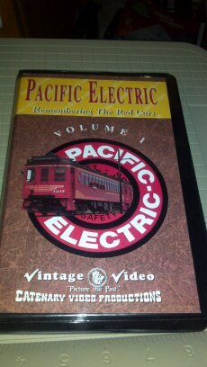 Pacific Electric Remembering The Red Cars Volume 1 Vhs