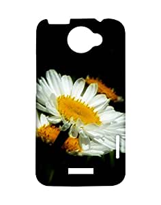 Mobifry Back case cover for HTC One X Mobile ( Printed design)