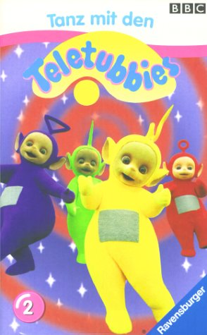 Teletubbies 02: Tanz mit den Teletubbies [VHS]
