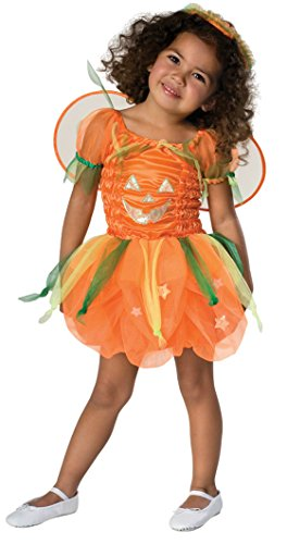 Girls Pumpkin Pie Infant Kids Child Fancy Dress Party Halloween Costume