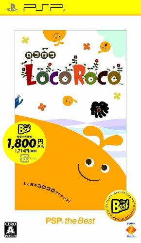 SCE [PSP] LocoRoco PSP the Best UCJS-18041
