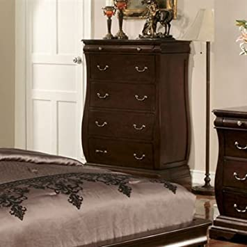 Brunswick Dark Walnut Finish Bedroom Chest
