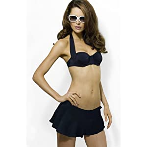 Smart & Sexy Light Lined Convertible Bandeau (38D, Black)