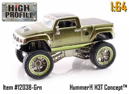 Jada Dub City High Profile Candy Green Hummer H3T Concept 1:64 Scale Die Cast Truck Car (Jada Toys High Profile 1 64 compare prices)