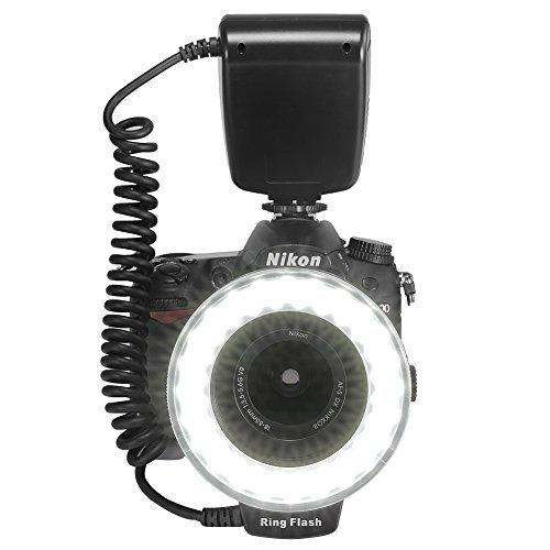 BestDealUSA-RF-550D-Marco-LED-Ring-Flash-LCD-Display-For-Nikon-Canon-DSLR-Camera-New