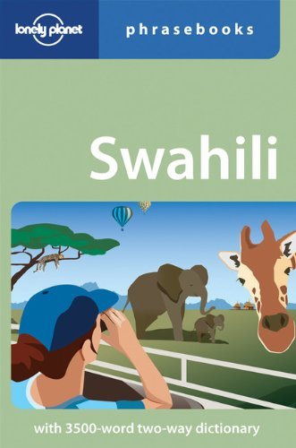 Swahili (Lonely Planet Phrasebooks)