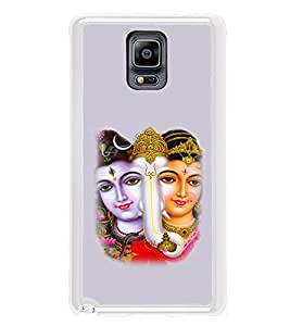 ifasho Siva Parvati and ganesh Back Case Cover for Samsung Galaxy Note 3