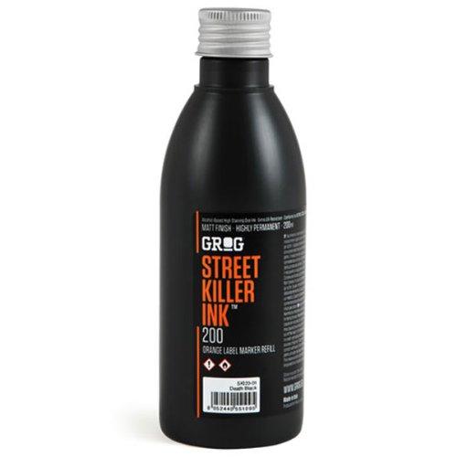 Le Marqueur vide Grog-Street Killer-d'encre haute-200ml-Tâches d'encre dye-Fourni par Noir