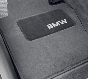 """BMW Genuine Gray Floor Mats for E38 - 7 SERIES 740i SEDAN (1994 - 2001), set of Four"""