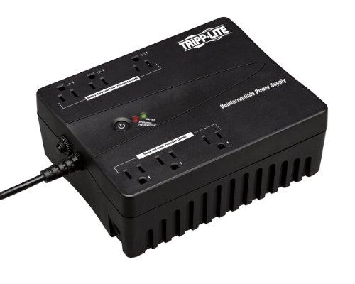 Tripp Lite Internet350U 350Va 180W Ups Desktop Battery Back Up Compact 120V Usb Rj11 Pc, 6 Outlets