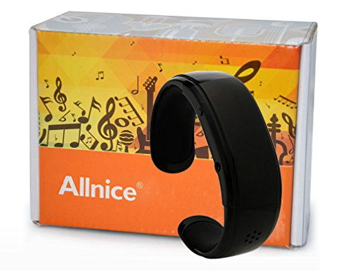 Allnice® Newest Fashion Ef01 Digital Bluetooth Handsfree Anti-Lost Stereo Smart Phone Watch Led Wristwatch Wristband Smart Bracelet Support Incoming Caller Id Display Synchronization Phonebook Mp3 Player For For Iphone 4 4S 5 5S 5C, Ipad 3, Retina & Mini