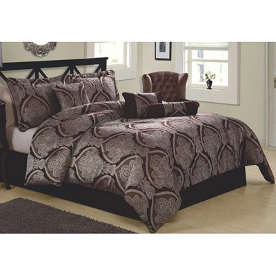 Pem America Tudor 7-Piece Comforter Set, Queen back-1065853