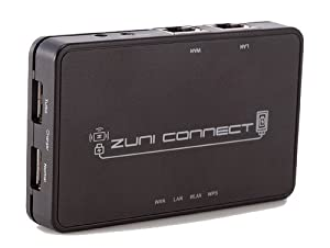 ZuniConnect Travel Router + USB Charging Port