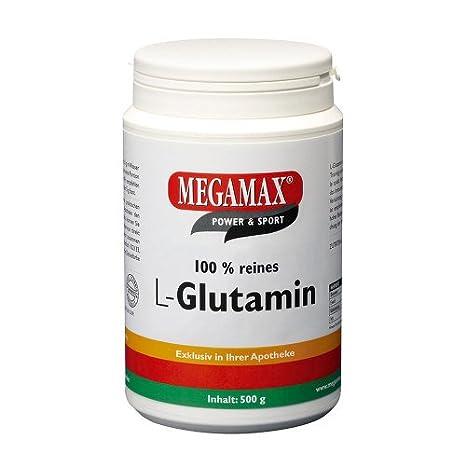 GLUTAMIN 100% rein megamax Pulver 500 g Pulver