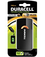 Duracell PPS3H Chargeur Nomade USB 3h 1150 mAh