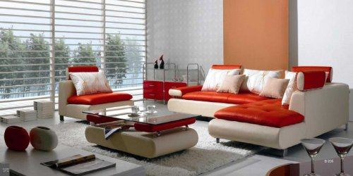 Red Sectional Leather Couch Choose From Red Funky Selections Funk This House
